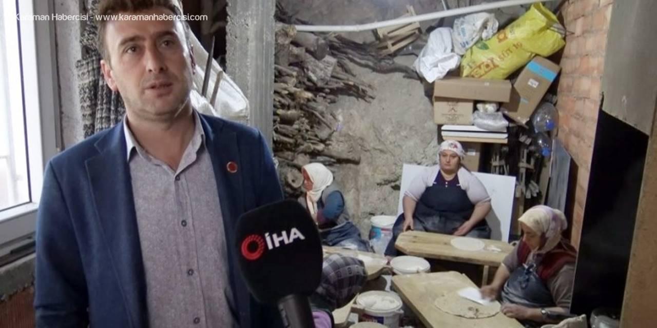 Ermenek'te Muhtardan Yaşlılara Destek