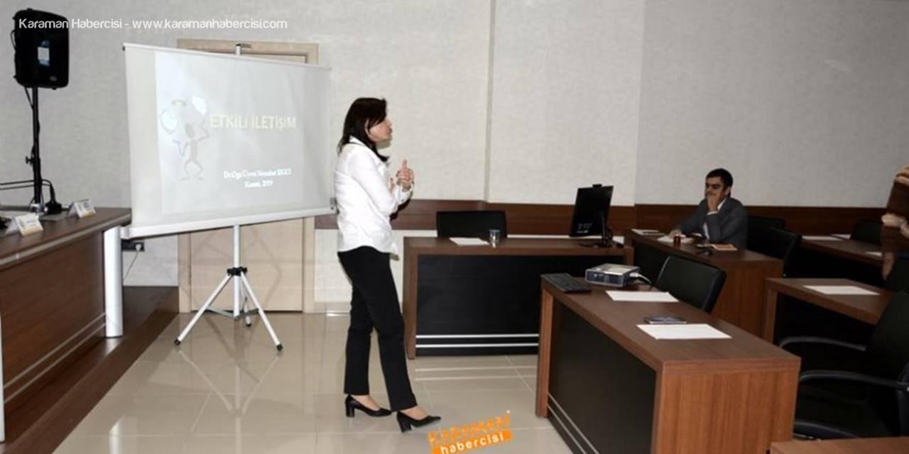 KTSO'da Etkili İletişim Eğitimi