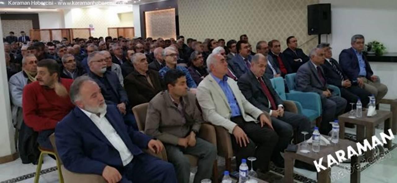 Ümit Özdağ Karaman'da Hayır Toplantısı Düzenledi