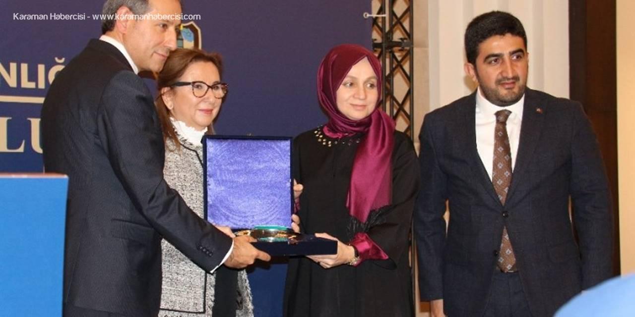 Ticaret Bakanı Ruhsar Pekcan Konya'dan Esnafa Seslendi