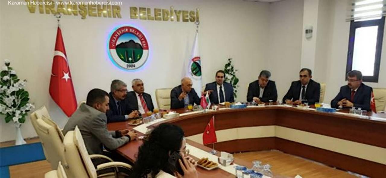Başkan Çalışkan Viranşehir'de