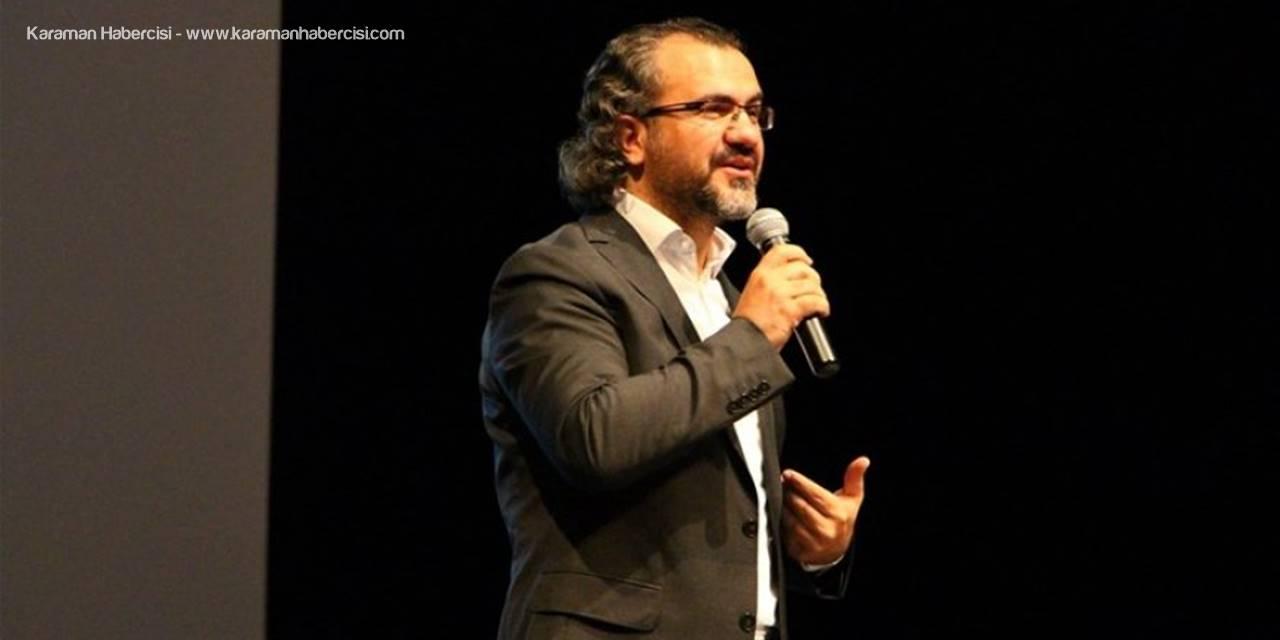 Sıtkı Aslanhan Karaman'da Kariyer Planlamasını Anlatacak