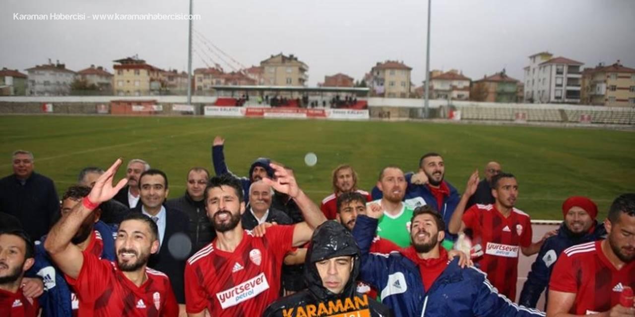 Karaman Belediyespor Gol Oldu Yağdı