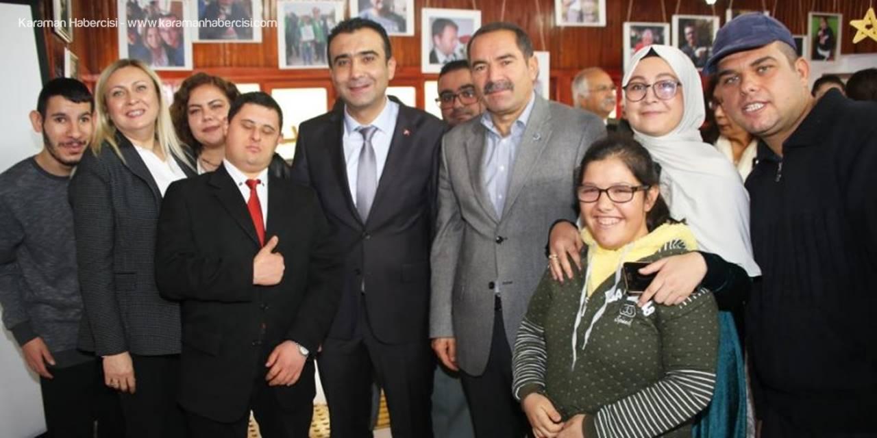Karaman'da Dünya Gözü İle Değil Gönül Gözü İle Sergisi Açıldı