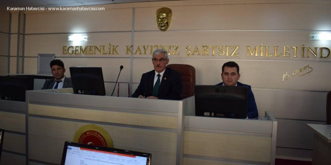 Karaman İl Genel Meclisi 2019'u Kapatıyor