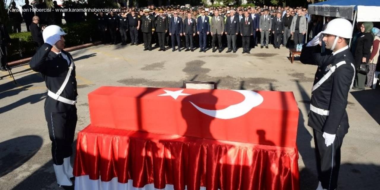Antalya'da Hayatını Kaybeden Konyalı Polis Memleketine Uğurlandı