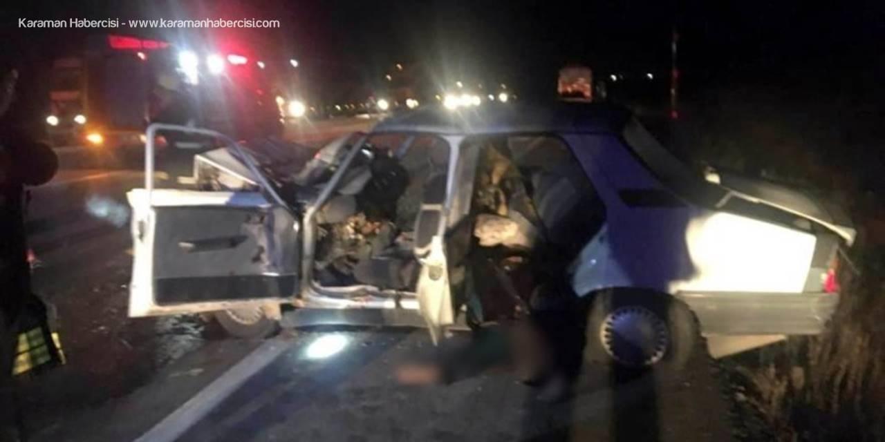 Kadınhanı'nda Talihsiz Kaza: 2 Ölü, 3 Yaralı
