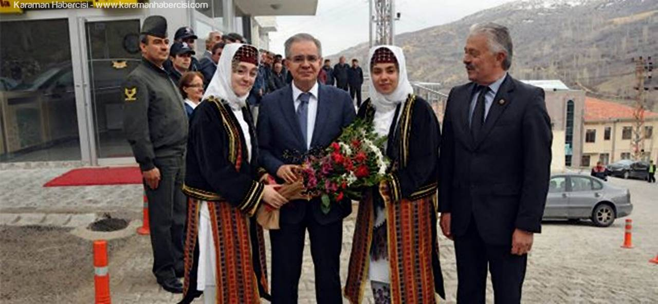 Vali Tapsız'dan, Başyayla Ziyareti
