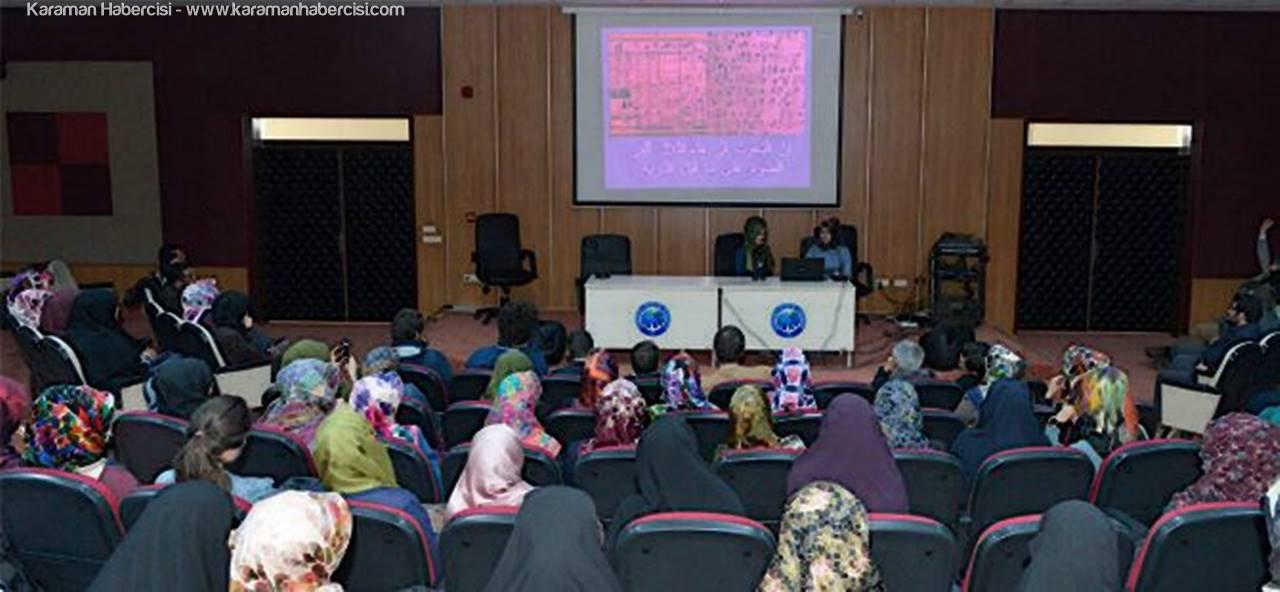 KMÜ Öğrencilerinden Arapça Münazara Programı