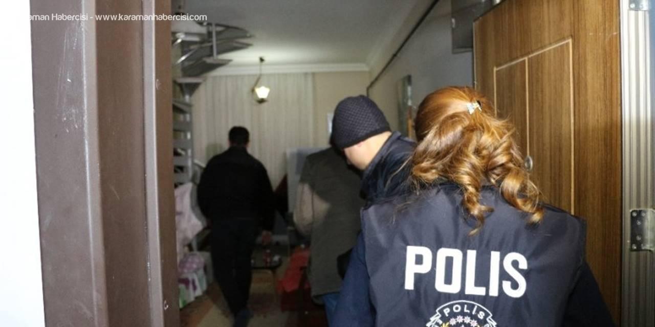 Konya'da Fuhuş Operasyonu: 5 Gözaltı
