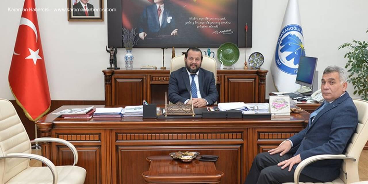 İl Emniyet Müdürlüğü Taş'tan Rektör Akgül'e Ziyaret