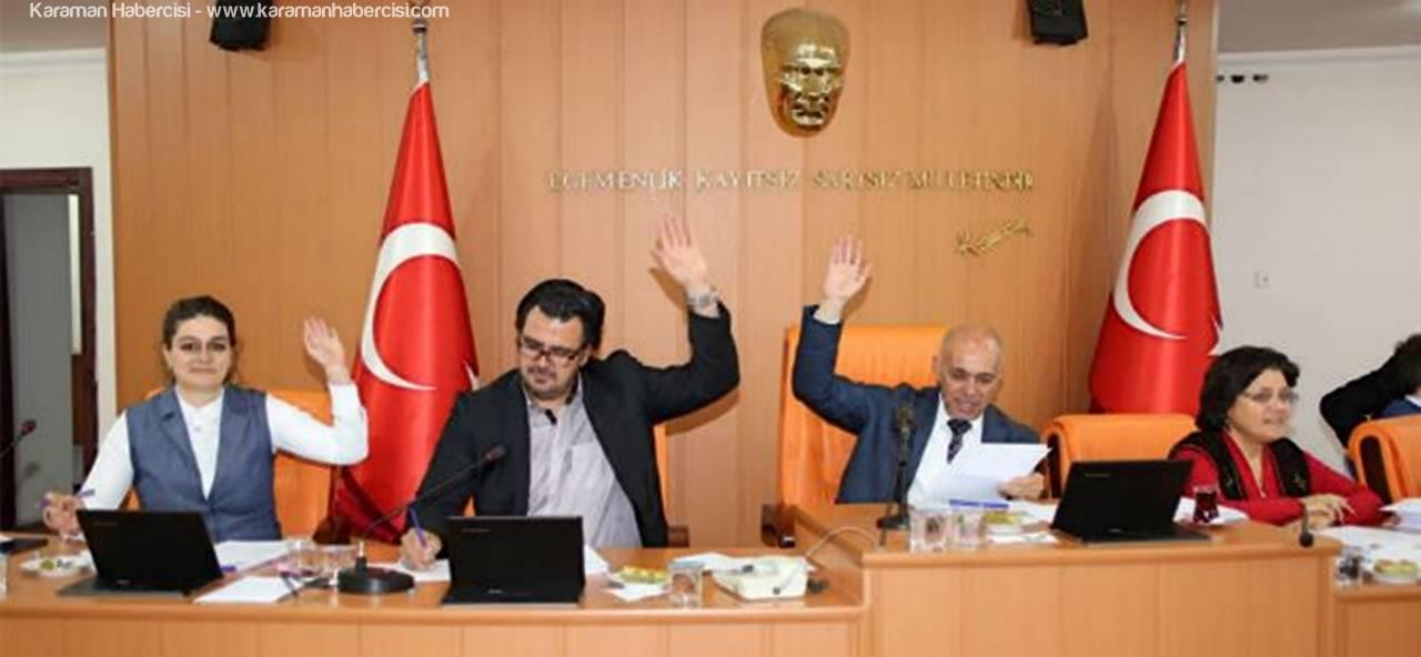 Belediye Meclisinde Seçim Yapıldı