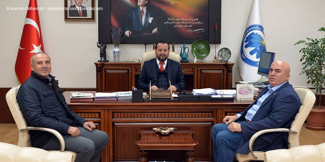 Ziraat Başkanından Rektör Akgül'e Ziyaret