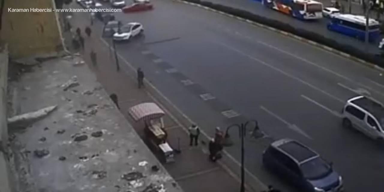 Drift Yapan Sürücü Trafiği Altüst Etti