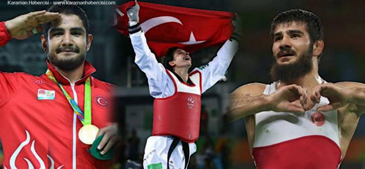 Rio Olimpiyat Oyunlarına KMÜ'den Üç Sporcu
