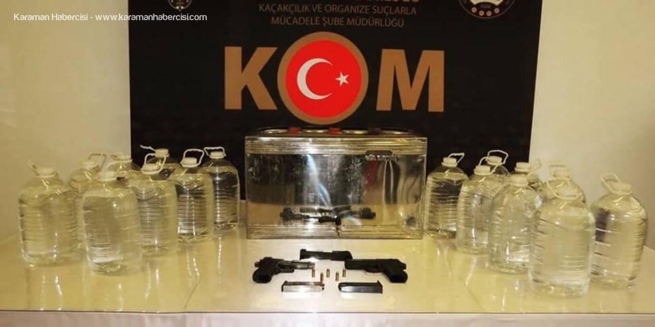 Çay Kazanıyla Kaçak Alkol Üreten 6 Kişiye Gözaltı