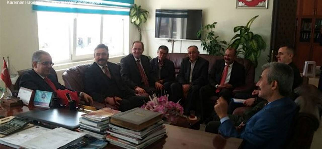 Vali Tapsız'dan Ayrancı Belediyesi'ne Ziyaret