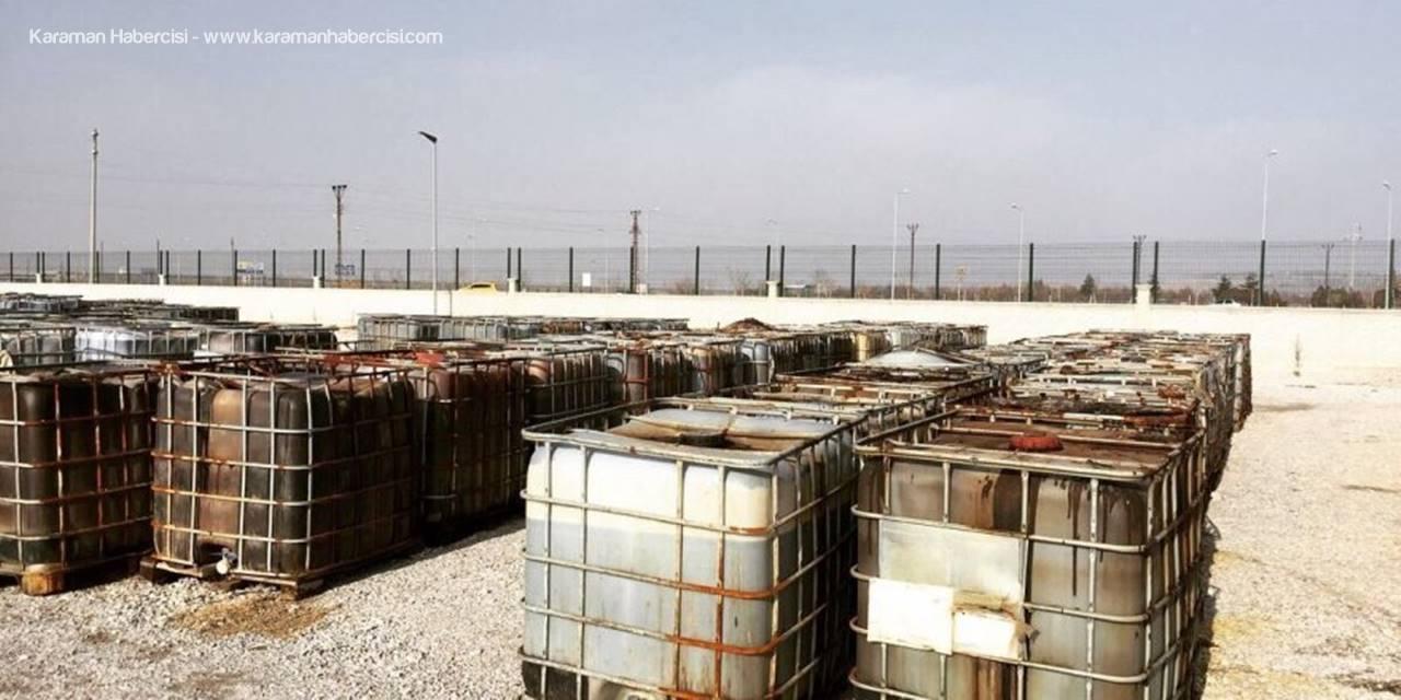 Konya'da 63 Bin 300 Litre Kaçak Akaryakıt Ele Geçirildi