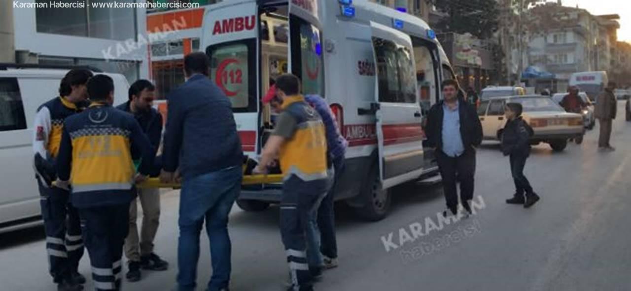 Karaman'da Gün Batımı İle Gelen Trafik Kazası