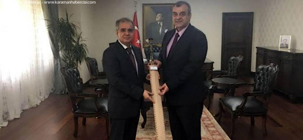 Dr. Hakan Sağlam'dan Vali Tapsız'a Ziyaret