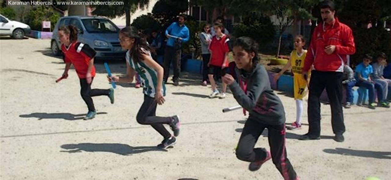 Ermenek'te Düzenlenen Küçükler Atletizm Festivali Sona Erdi