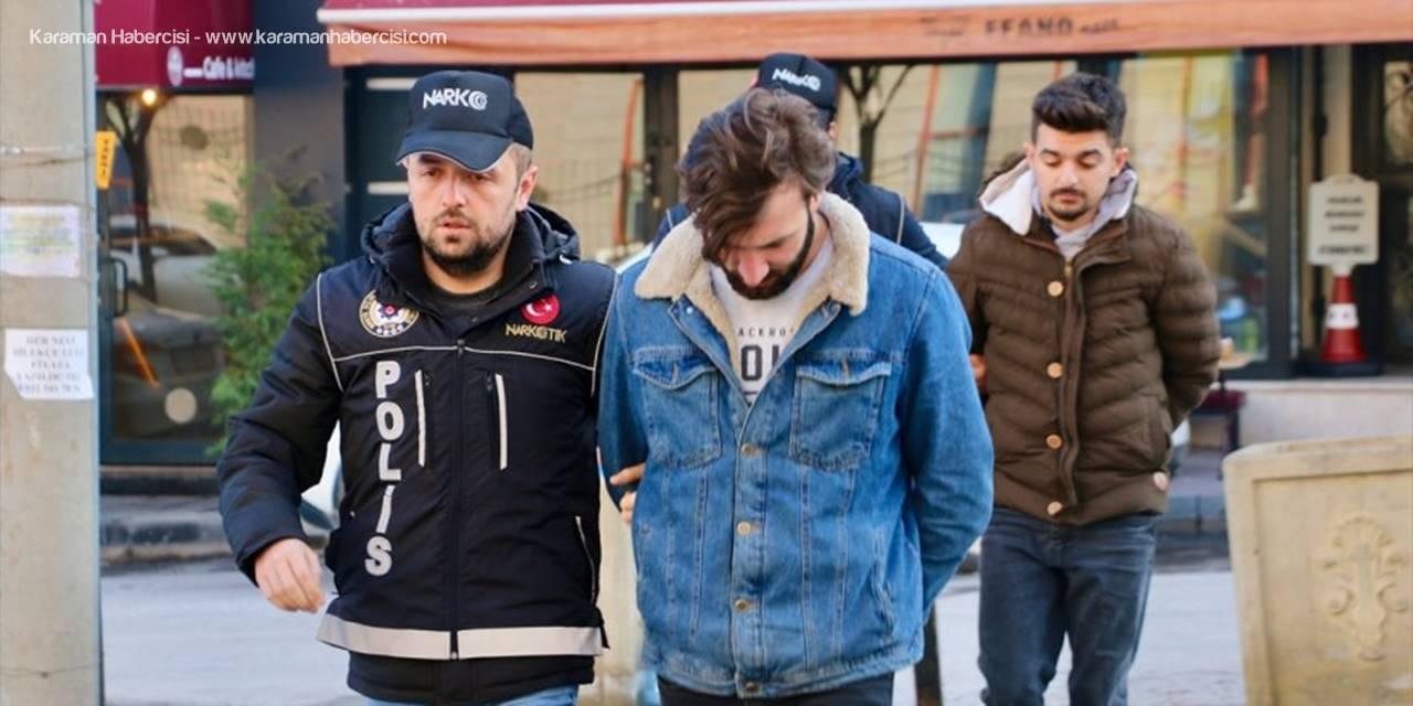 Eskişehir'de Yakalanan Uyuşturucu Ticareti Şüphelisi 3 Kişiden Biri Tutuklandı