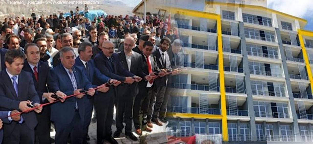 Sarıveliler'de 100 Kişinin İstihdam Edebileceği İşyeri Açıldı
