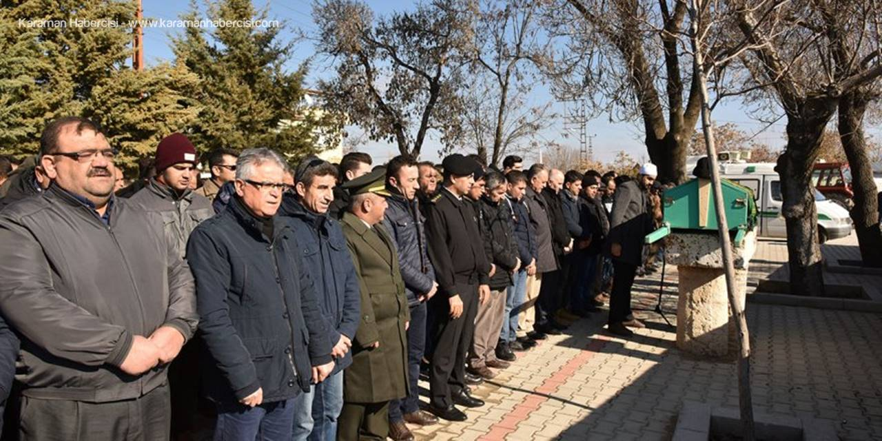 Karaman'da Şehit Babasına Son Görev