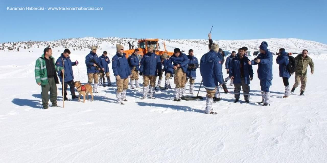 Toros Dağları'nda Kaybolan Ali Kaçar'ı Arama Çalışmaları Sürüyor