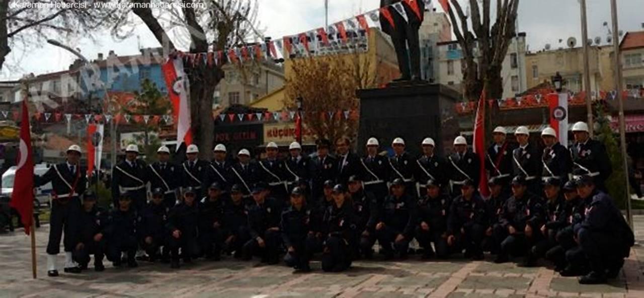 Karaman'da Polis Teşkilatının 172. Yıldönümü Kutlandı
