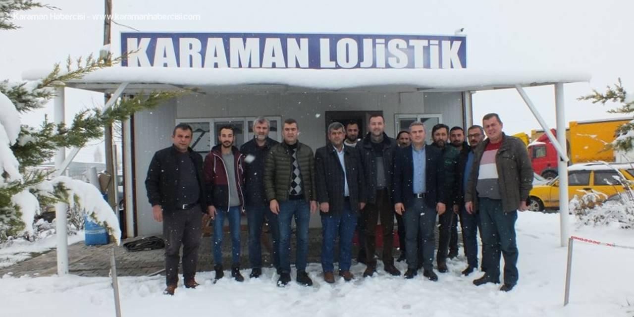 MHP Karamanlı Nakliyecilerin Sorunlarını Dinledi