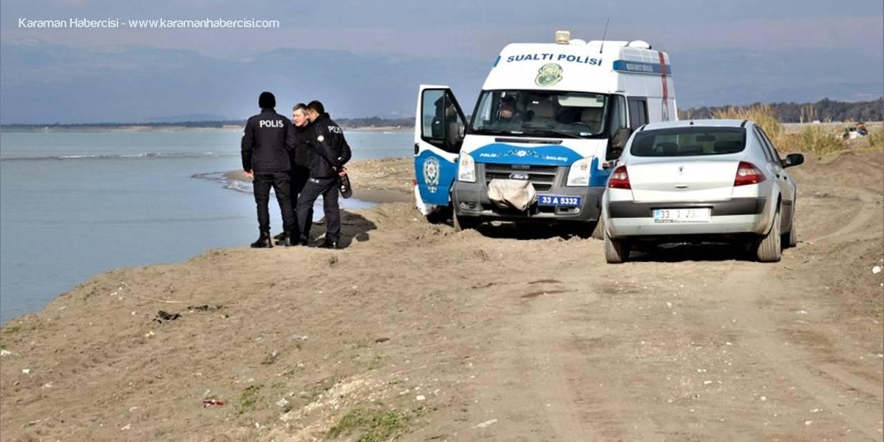 Mersin'de Denizde Kaybolan Bekçiyi Arama Çalışmaları Sürüyor