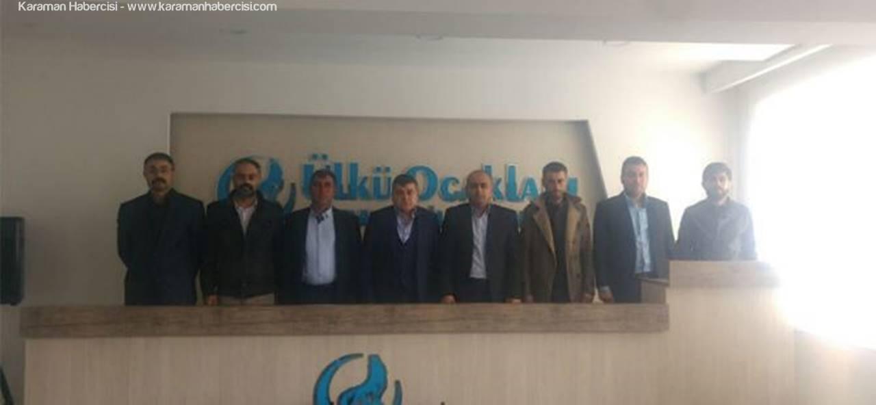 Karaman Ülkü Ocakları Yönetimi İlk Toplantısını Gerçekleştirdi
