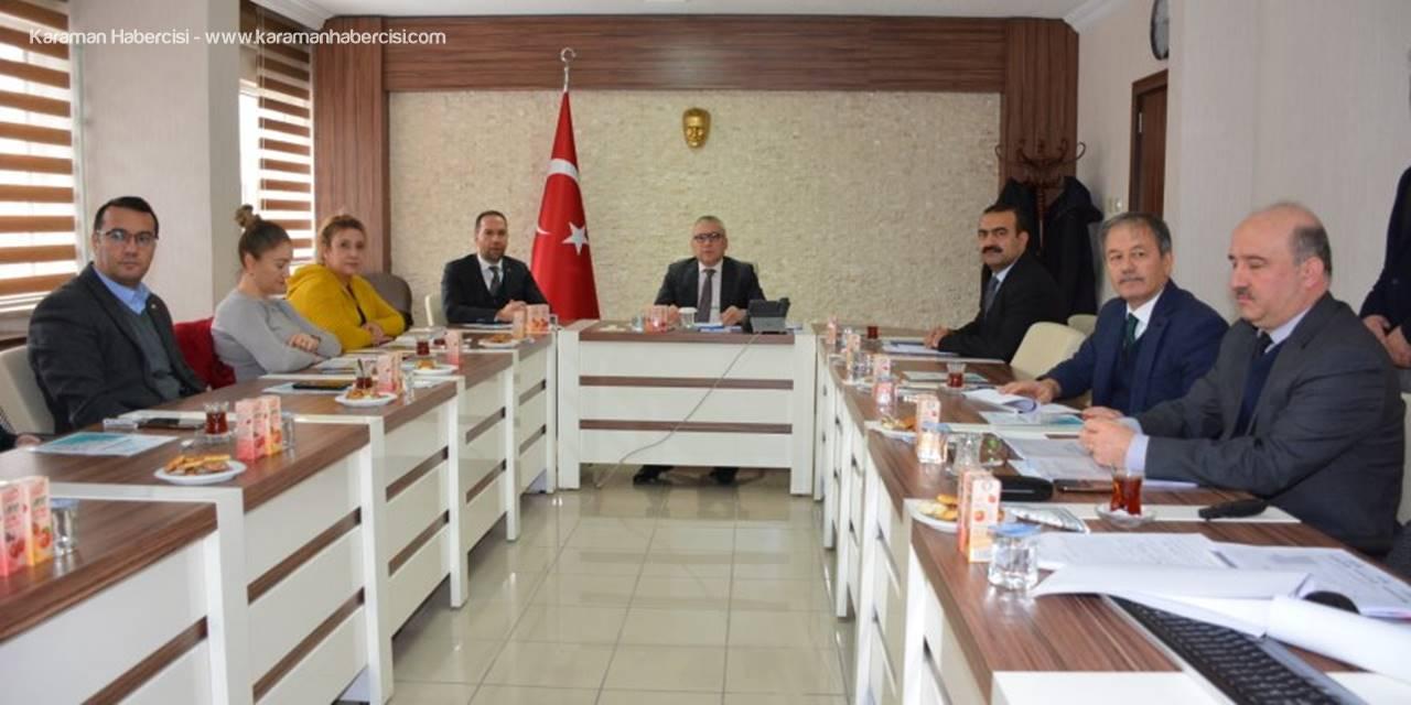 Niğde'de İl İstihdam Ve Mesleki Eğitim Kurulu Toplantısı Yapıldı