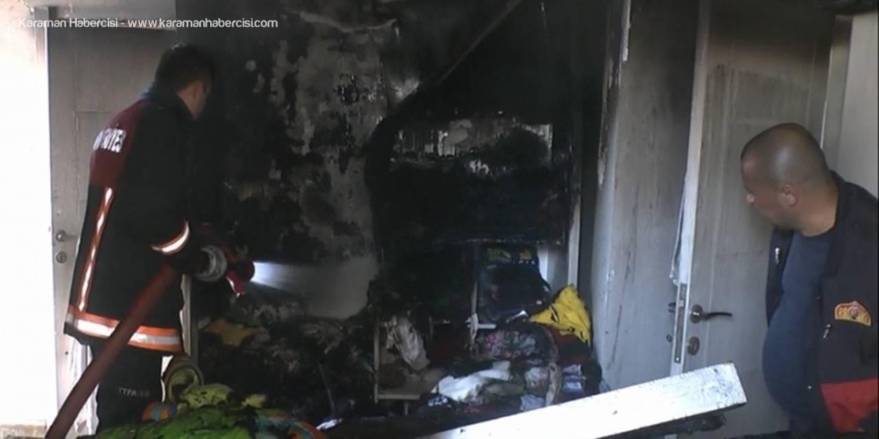 Mersin'de Elektrikli Isıtıcı Faciasını Çocuklar Önledi
