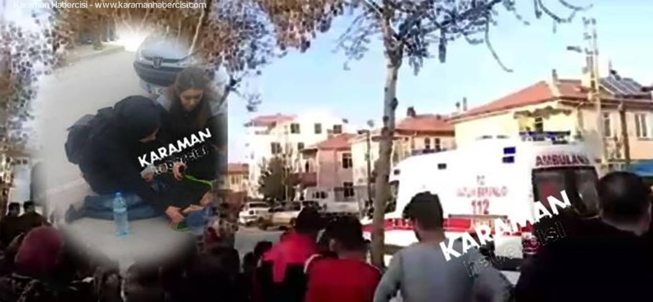 Karaman'da İki Kazada İki Çocuk Yaralandı