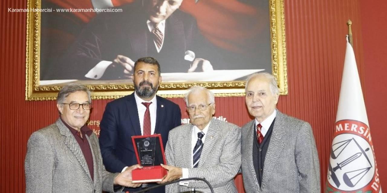 Mersin'in Belleği, 100 Yıllık Çınar Av. Şinasi Develi Vefat Etti