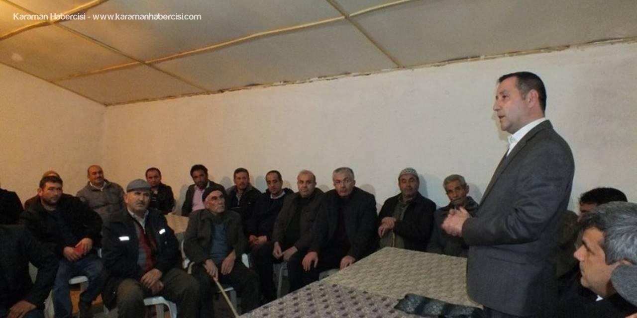 Karaman MHP'de Köy Ziyaretleri Devam Ediyor