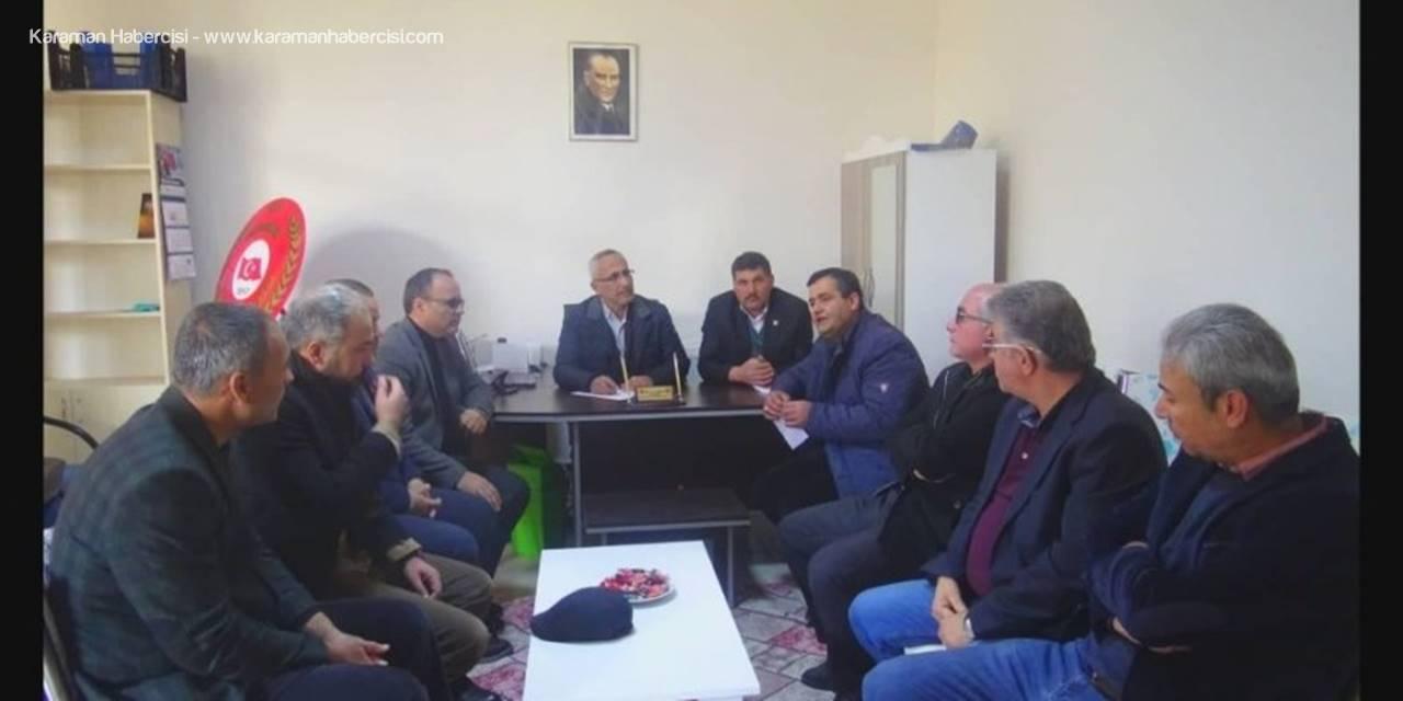 Elazığ İçin Ermenek'te Yardım Kampanyası Başlatıldı