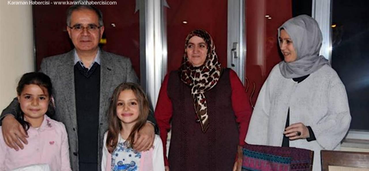 Vali Tapsız Karaman'da Polis ve Şehit Aileleri ile Bir Araya Geldi