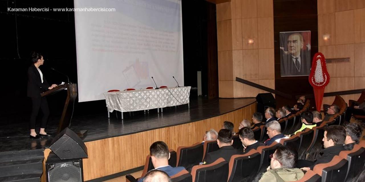Karaman'da İkinci Dönem Hazırlıkları