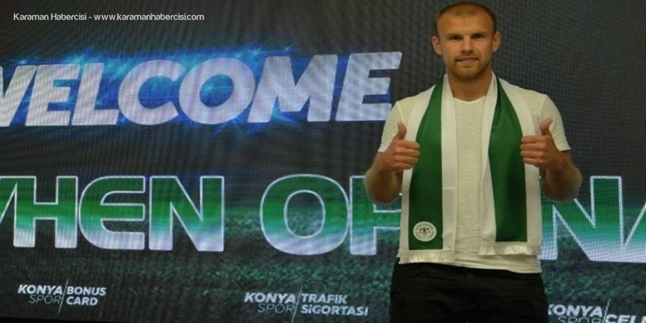 Konyaspor'da, Opanasenko İle Yollar Ayrıldı