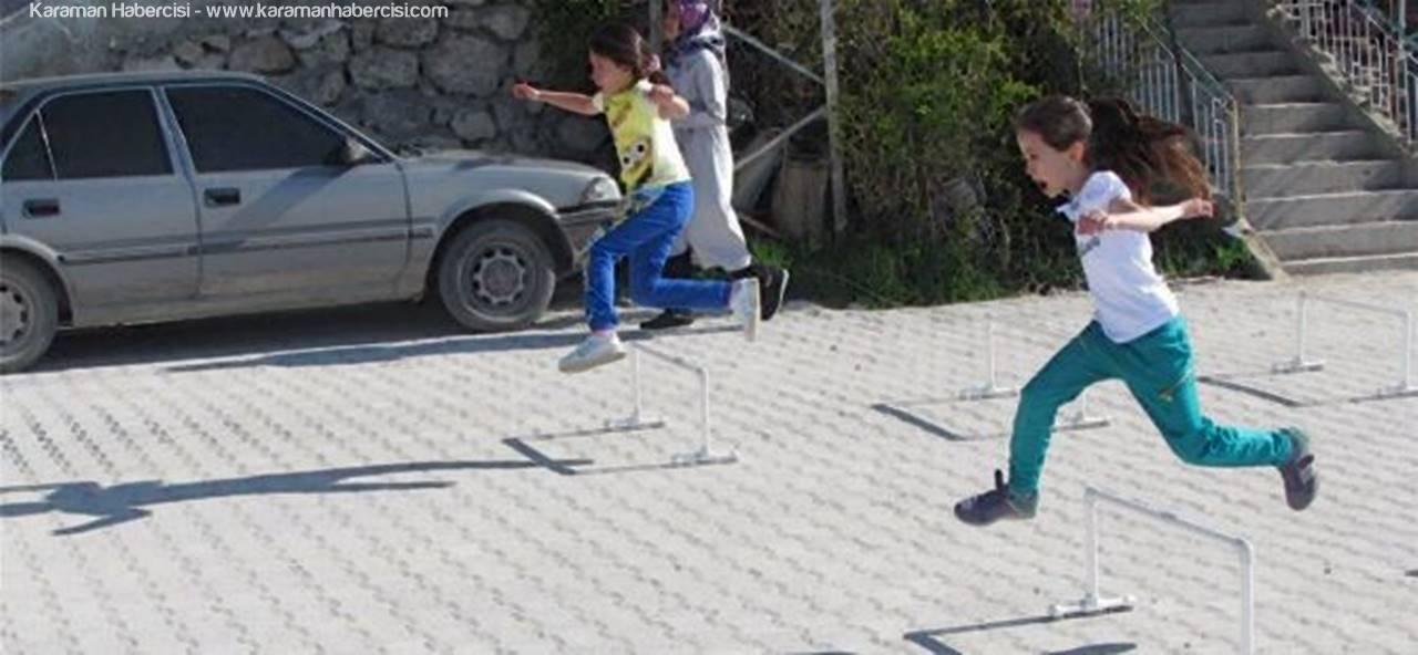 """Ermenek'te """"Bebestad"""" Atletizm Festivali Düzenlendi"""