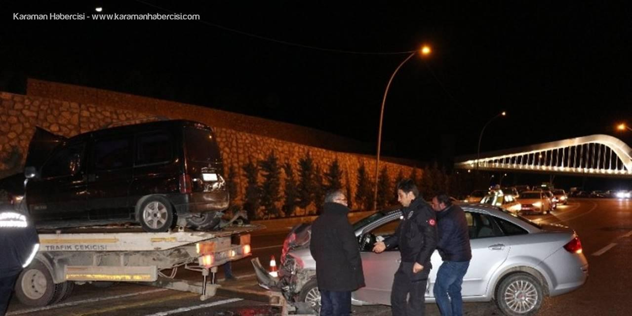 Konya'da Trafik Kazası : 4 Yaralı