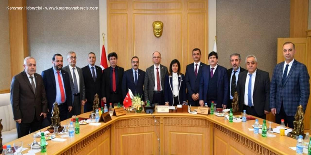 Rektör Akgül, Doğu Akdeniz Ve Enerji Stratejileri Konferansına Katıldı