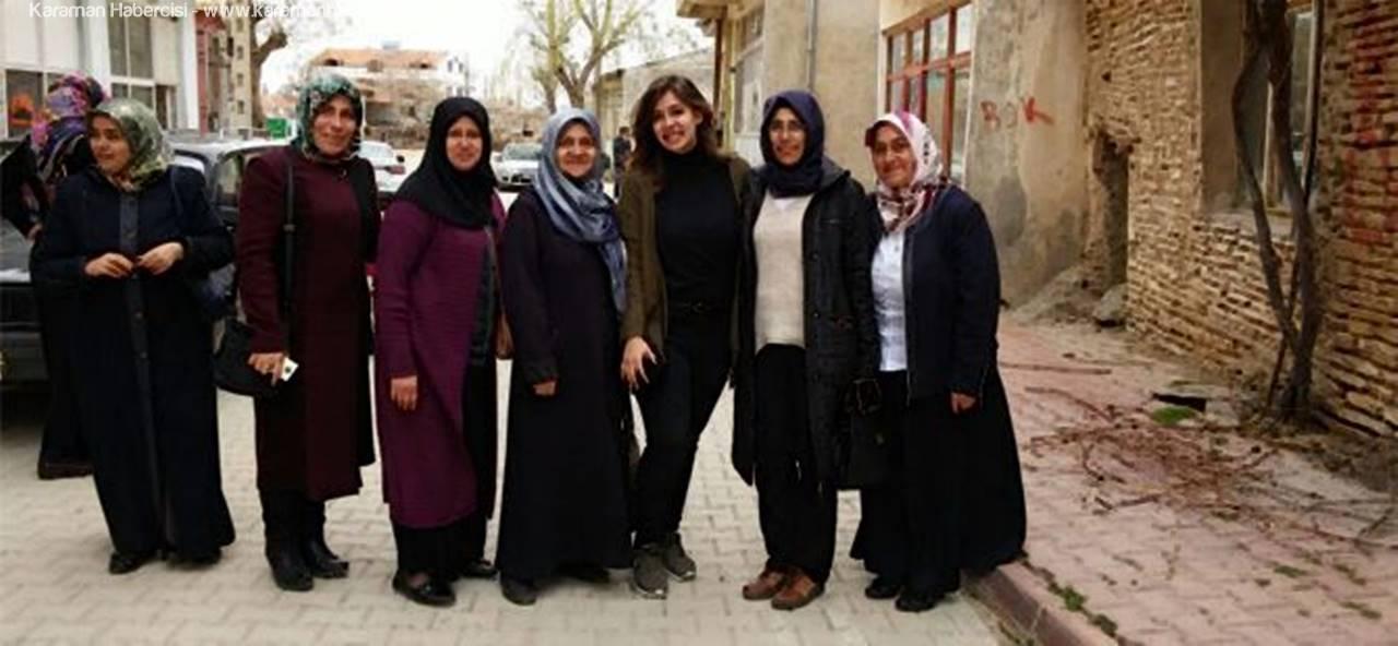 Karaman AK Parti Kadın Kolları KazımKarabekir'de