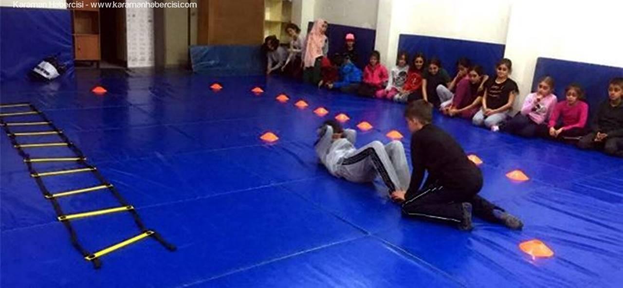 Karaman Judo Antrenörleri Yetenekli Judocuları Keşfediyorlar