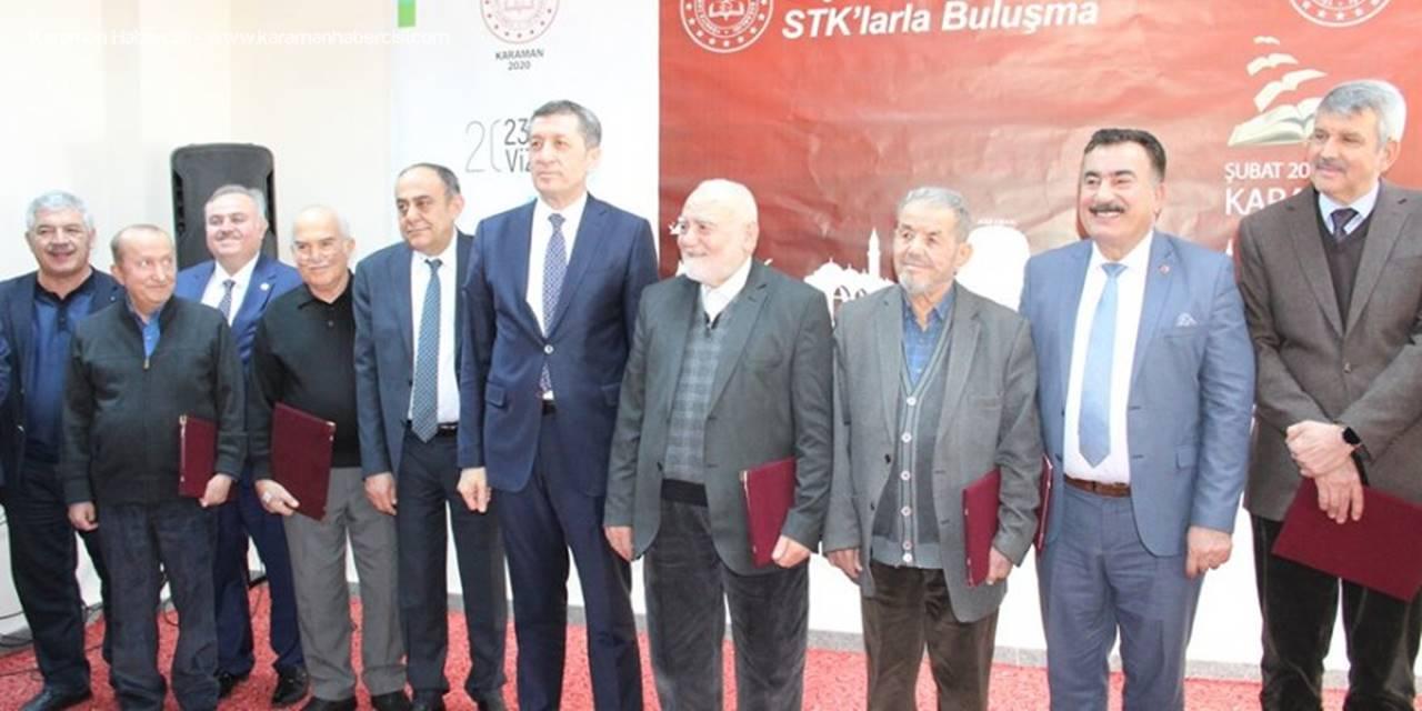 Bakan Selçuk, Karaman'da İş İnsanları Ve Stk Temsilcileriyle Buluştu
