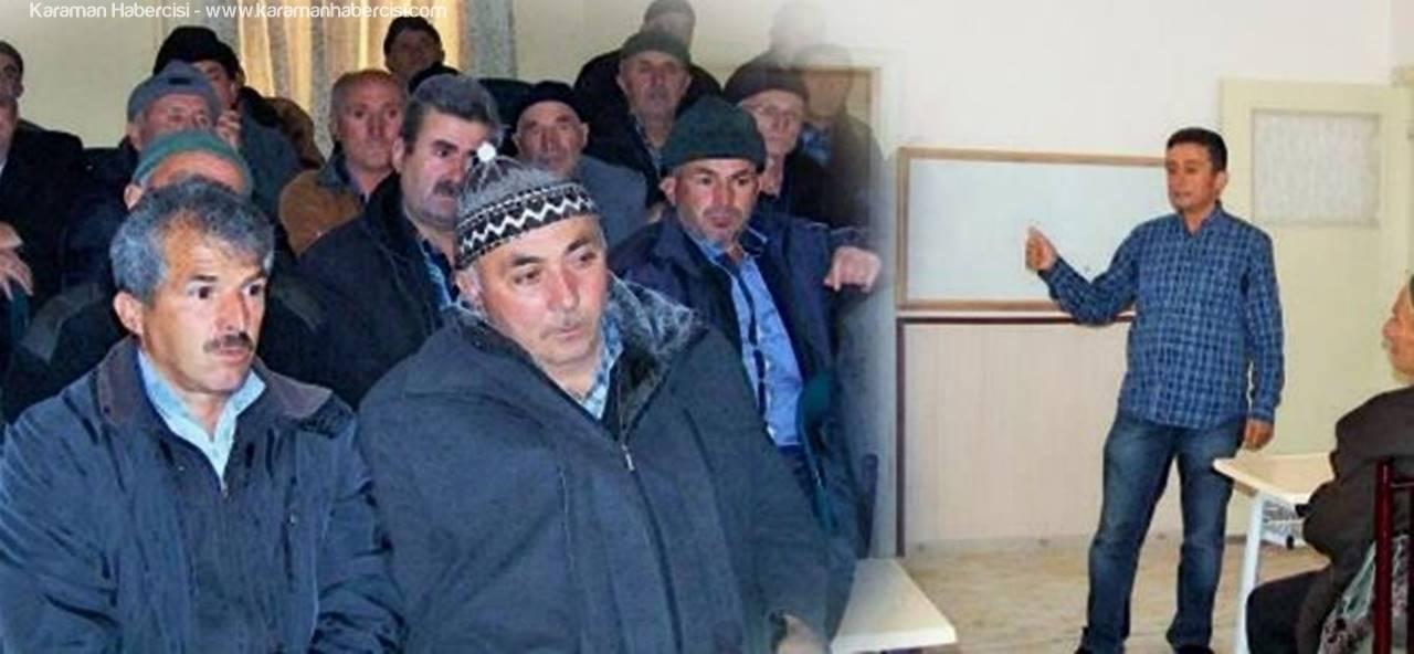 Karaman'da Tarla Okulları Projesi