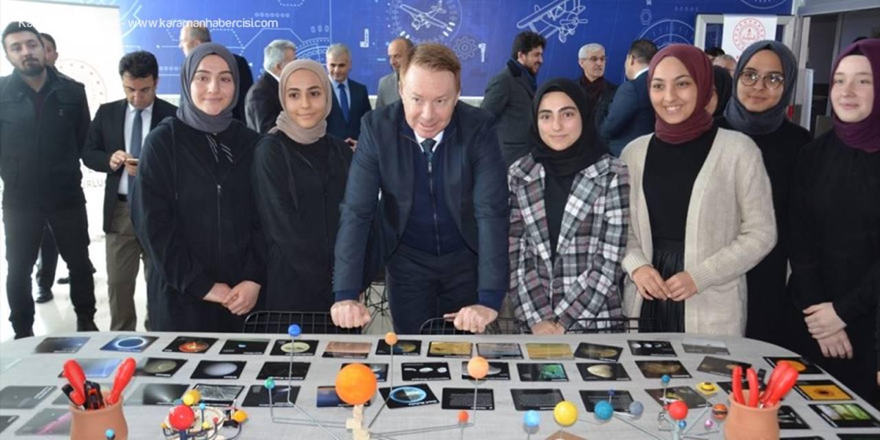 Karaman'da Havacılık Ve Uzay Atölyesi Açıldı